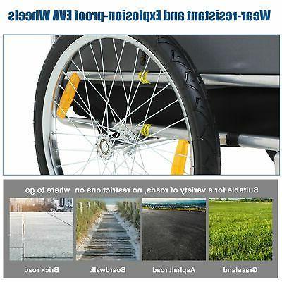 Aosom Bike Trailer Trailer Stroller