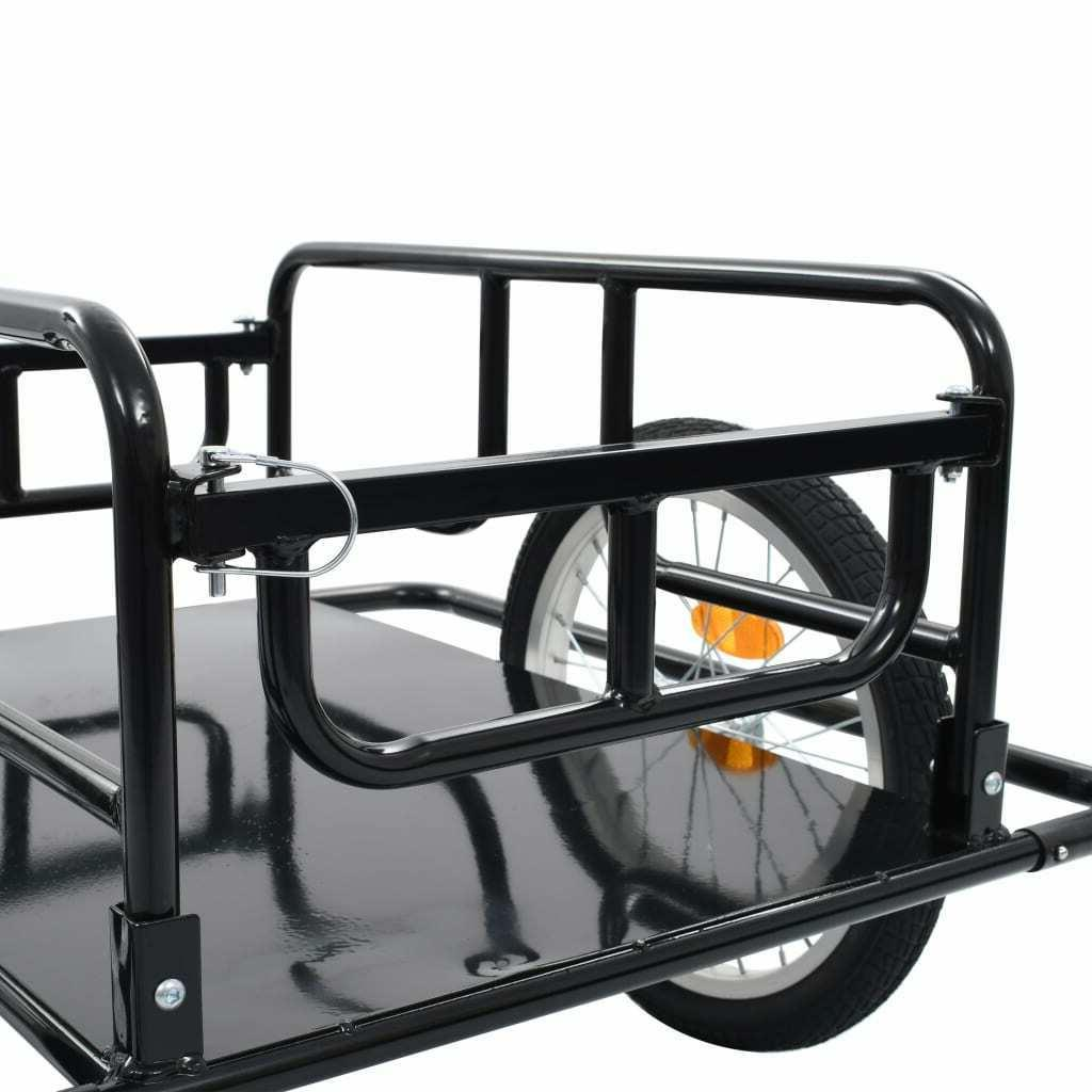 Foldable Bicycle Cargo Trailer Steel