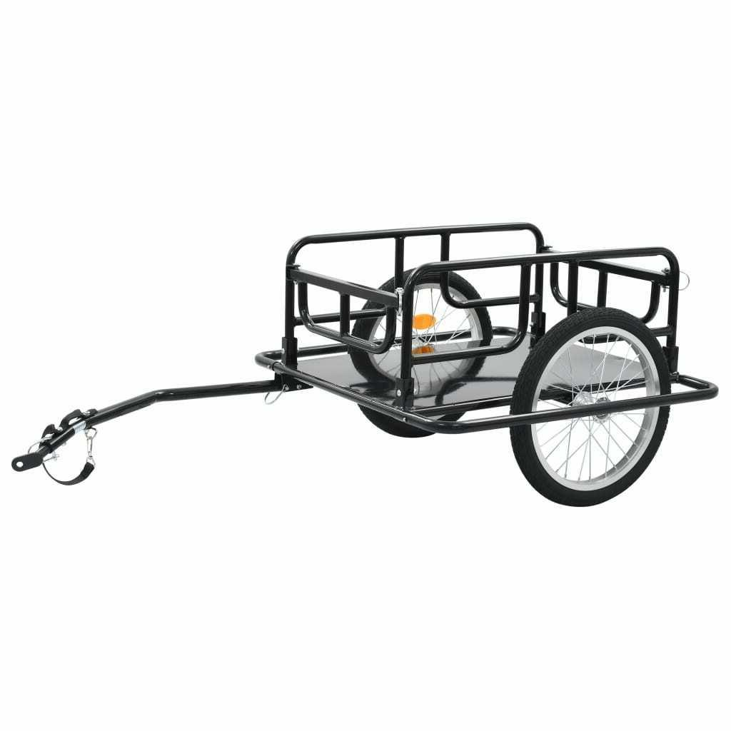 Foldable Trailer Luggage Cart Steel