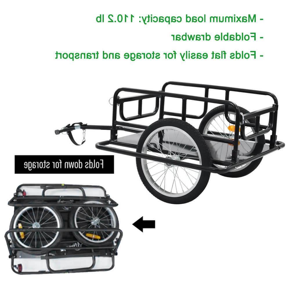 foldable bicycle bike cargo trailer luggage cart