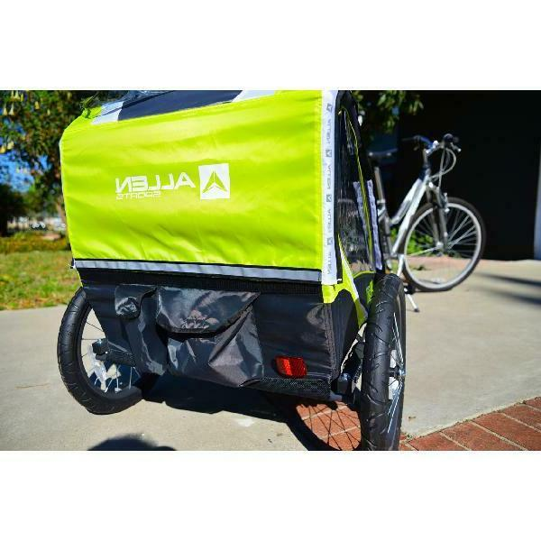 Foldable Double Bike Compact Storage Portable Safety
