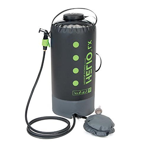 helio lx pressure shower