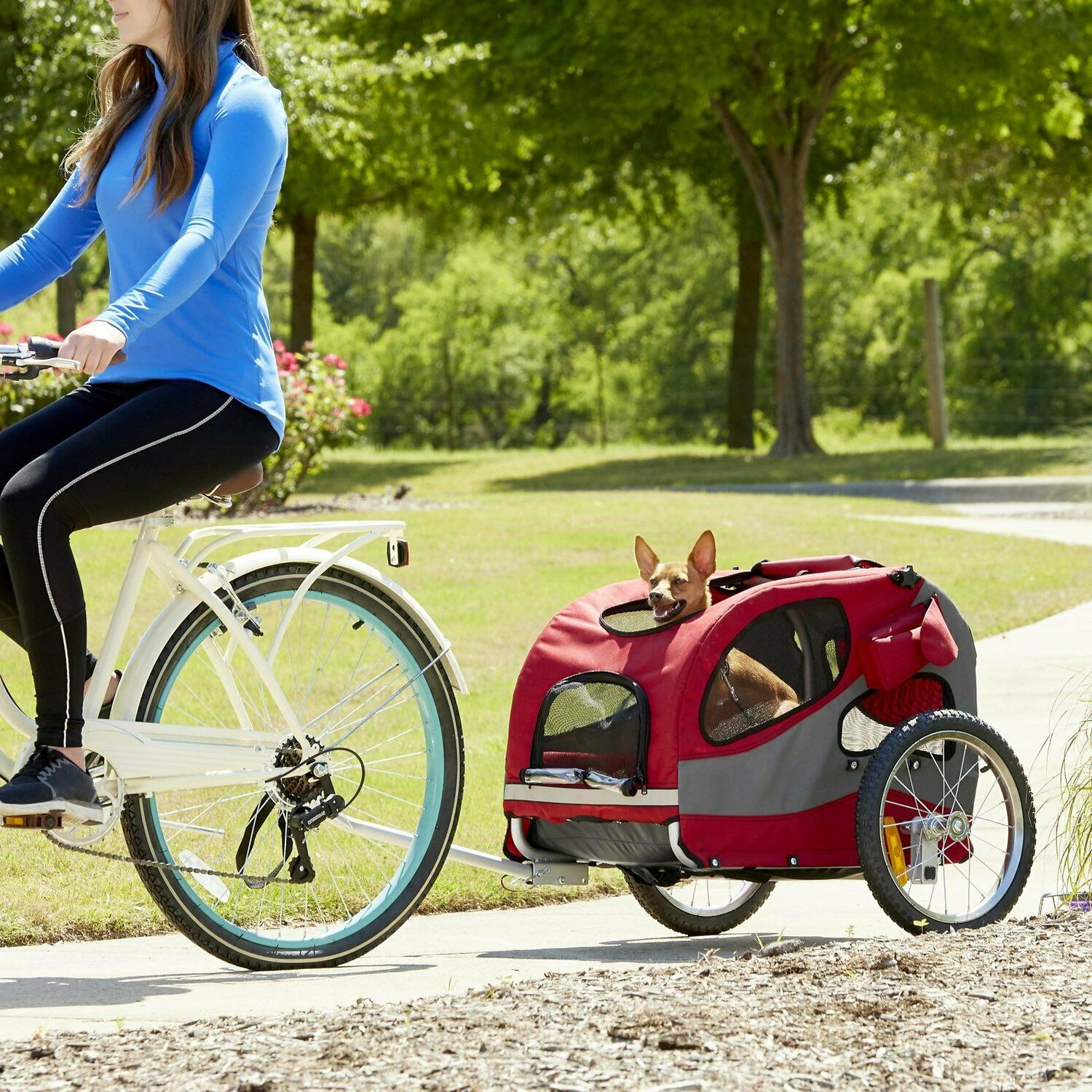 Solvit Aluminum Bike for Dogs Holds Pets Up To 110 lb