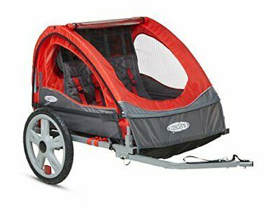 take 2 double bicycle trailer