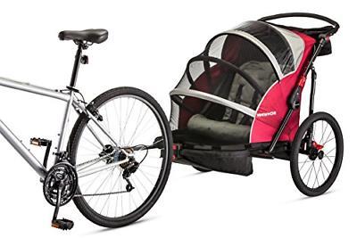joyrider double bicycle trailer