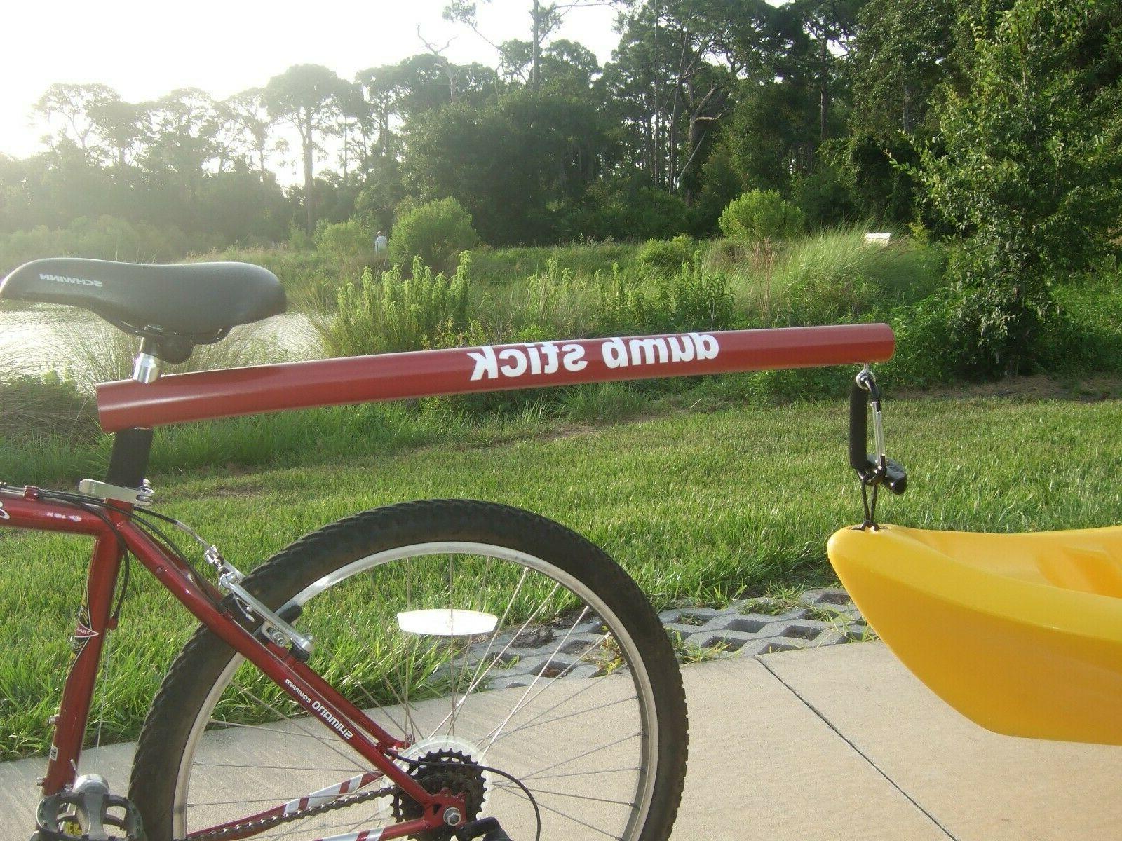 Kayak Tow Trailer, Stick, Bicycle Trailer