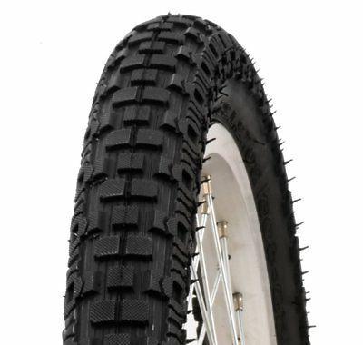 knobby bike tire