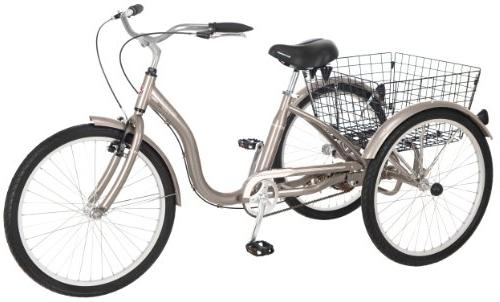 meridian 26 single speed tricycle