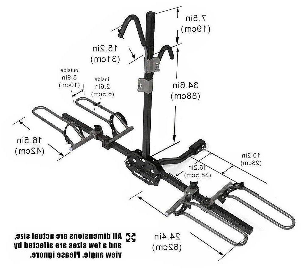 Swagman XC Cross-Country 2-Bike Hitch Mount Rack