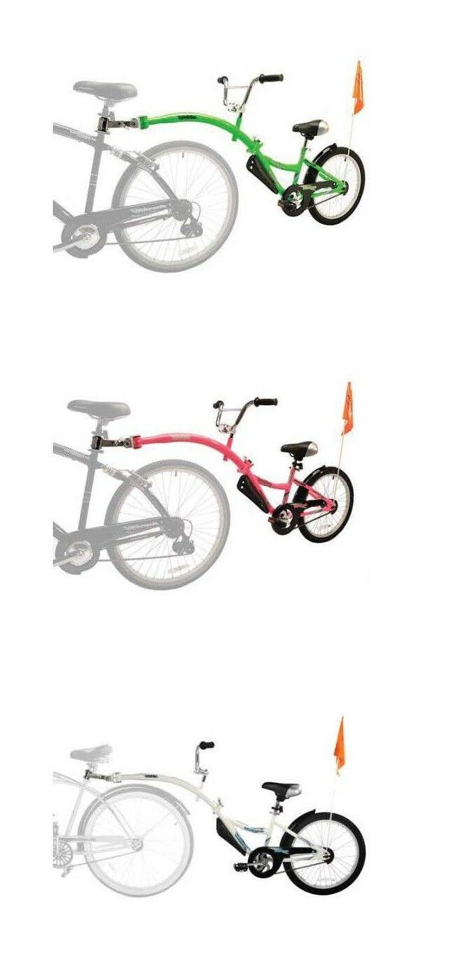 new co pilot child bike bicycle trailer