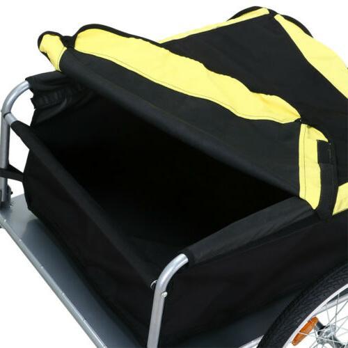New Cargo Trailer Cart Shopping Yellow/Black
