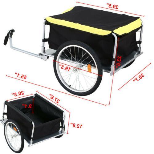 New Frame Bike Cargo Trailer Cart Shopping