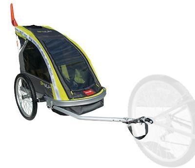 Allen Premier 2-Child Aluminum Bike Green/Grey