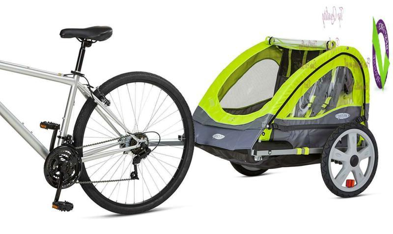 Instep Double Tow Behind Bike Converts To
