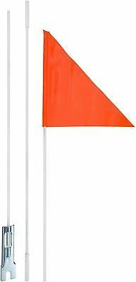 Diamondback Safety Flag, 6-Feet, Orange