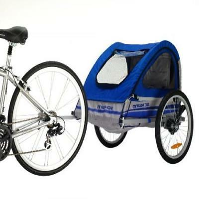 schwinn trailblazer double bicycle trailer