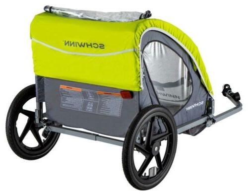 Schwinn Shuttle bike trailer, 2 passengers,