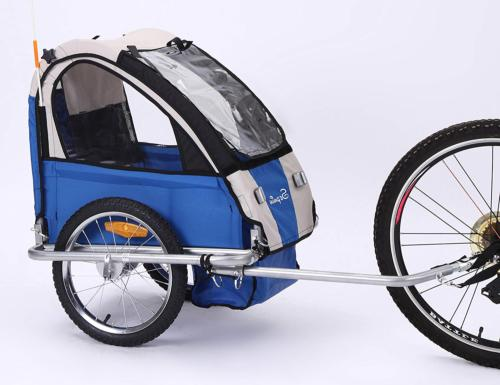 Sepnine Steel Frame Baby Bicycle Trailer of Single seat for