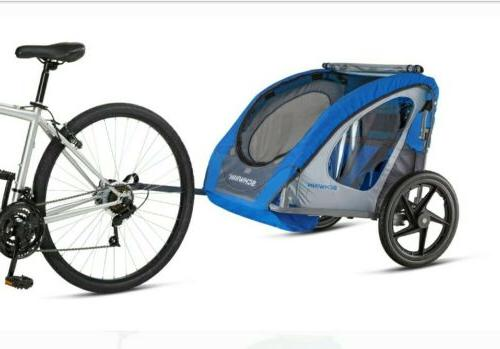 suttle foldable bike trailer