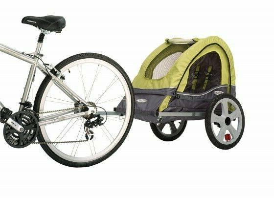 InSTEP Single Bicycle Trailer Canopy 1