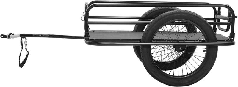 Cycle Force Trail-Monster Trailer, Black