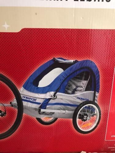 trailblazer single bike trailer blue