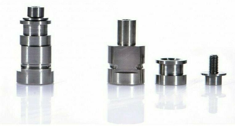 trailers pair of nuts in titanium m10x1
