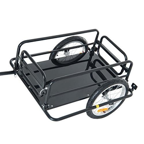 Aosom Bike Storage Cart and Trailer Hitch