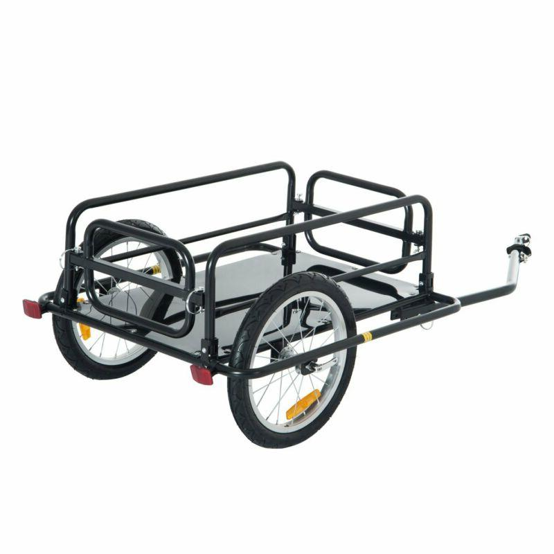 wanderer folding bicycle bike cargo storage cart