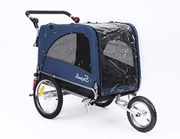 Sepnine & Leonpets Dog cart of 3 in 1 Luxury Large Sized Bik
