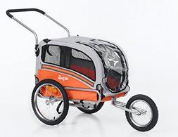 Sepnine & Leonpets pet Carry of 2 in1 pet Dog Bike Trailer B