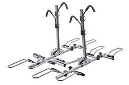 SportRack 4 Bike Lock & Tilt Platform Hitch Rack w/ Ratchet