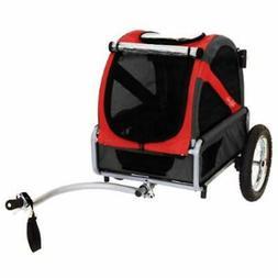 Mini Strollers Dog Bike Trailer, Rebel Red/Black Sports &amp