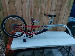 Mountain Train Trek Tag Along Trailer Red Bike Bicycle Shima