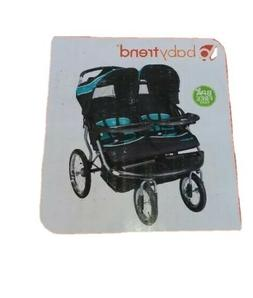 Baby Trend Navigator Double Jogger Stroller - Tropic -