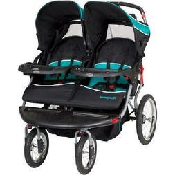Baby Trend Navigator Double Jogging Stroller, Tropic