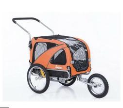New! Sepnine 10202 Large Pet Dog Bike Trailer & Jogging Stro