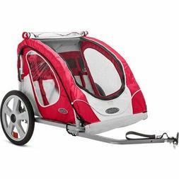 NEW 2-Seater Bike Trailer/ Child Kid Seat Carrier, Pet Trans