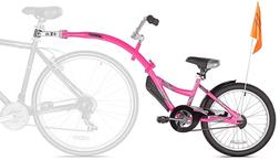 new co pilot child bike trailer pink