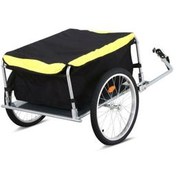New Frame Bicycle Bike Cargo Trailer Cart Carrier Shopping S