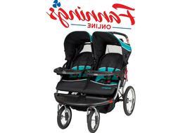 New Opened Baby Trend Navigator Double Jogger Stroller, Trop