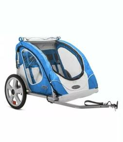 New InStep Robin 2-Seater Bicycle Trailer Blue