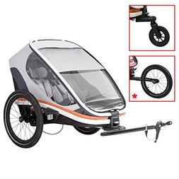 Hamax Outback Multi-Sport Child Bike Trailer + Stroller +Jog