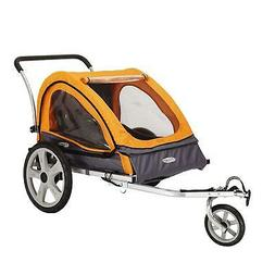 Perfect Storage Transportation Double Bicycle Trailer Baby T