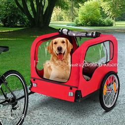 Pet Bicycle <font><b>Trailer</b></font> For <font><b>Dogs</b