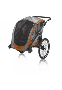 Baby Jogger POD Chassis, Orange/Gray Double Stroller for Wal