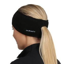 TrailHeads Women's Ponytail Headband - black/black