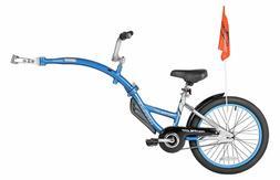 Pro-Pilot Tandem Bicycle Trailer Passenger Can Coast or Peda
