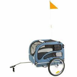 Rage Powersports PT-20304-B Blue 2-in-1 Pull-Behind Dog Bike