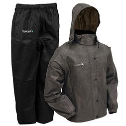 frogg toggs All Sport Rain and Wind Suit, STONE/BLACK, M